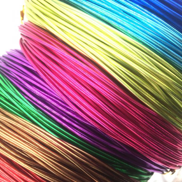1mm Aluminium Wire - Various Colours
